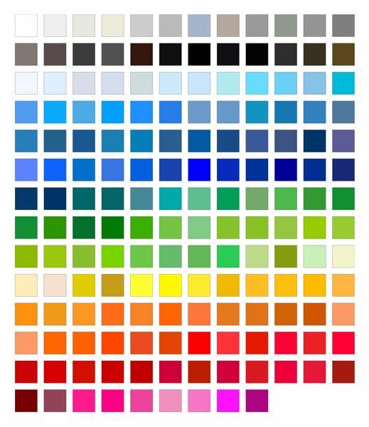 Как сделать на палитре цвет 32